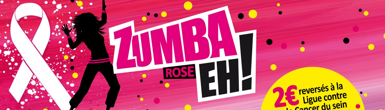 Soirée Zumba rose au profit de la ligue contre le cancer du sein