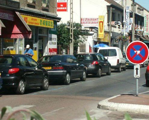 avenue de la gare Villepinte