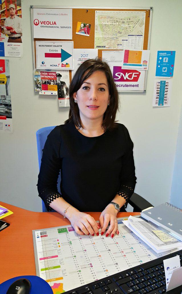 Agnès Belin, chargée d'emploi à la Mairie de Villepinte (93)