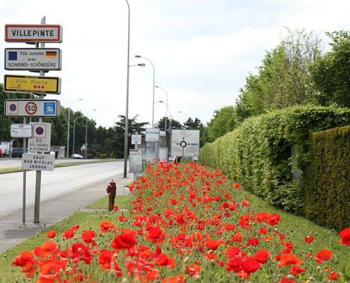 Villepinte, ville fleurie avec 3 fleurs !