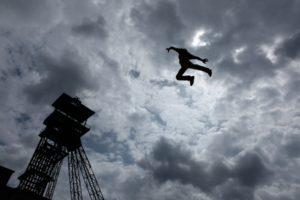 cirque la bascule -parc du sausset - villepinte - festival paris quartier ete