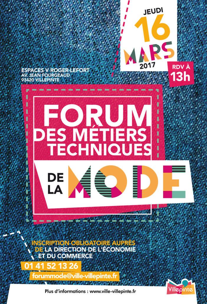 Forum des métiers techniques de la Mode