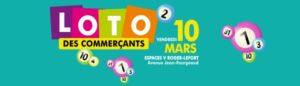 Loto des commerçants - Vendredi 10 mars - Espaces V