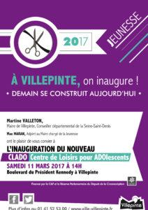 inauguration du nouveau CLADO de Villepinte