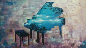Peintures des artistes du parc forestier -Villepinte