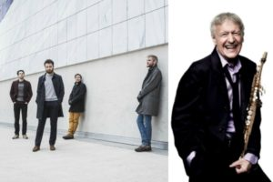 David Enhco Quartet - Michel Portal © Maxime de Bollivier - Jean-Marc Lubrano