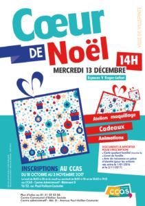 Coeur de Noël 2017 à Villepinte