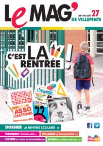 Le Mag' de Villepinte 27 - Septembre-Octobre 2017