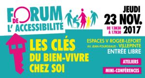 Forum de l'accessibilité : les clés du bien-être chez soi aux Espaces V Roger-Lefort
