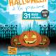 Halloween à la piscine municipale Agnès Béraudias de Villepinte, mardi 31 octobre de 14h30 à 19 heures