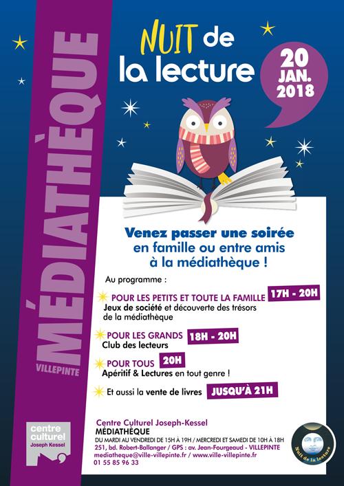 Nuit de la Lecture à Villepinte (93)