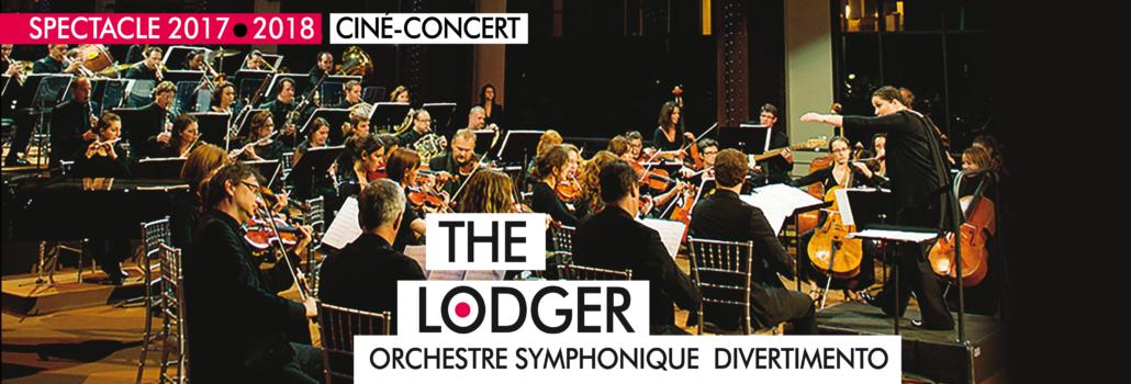 L'Orchestre Symphonique Divetimento jouera the Lodger le 27 janvier à Villepinte aux Espaces V