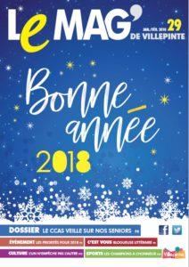 Une du Mag' de Villepinte de Janvier-Février 2018