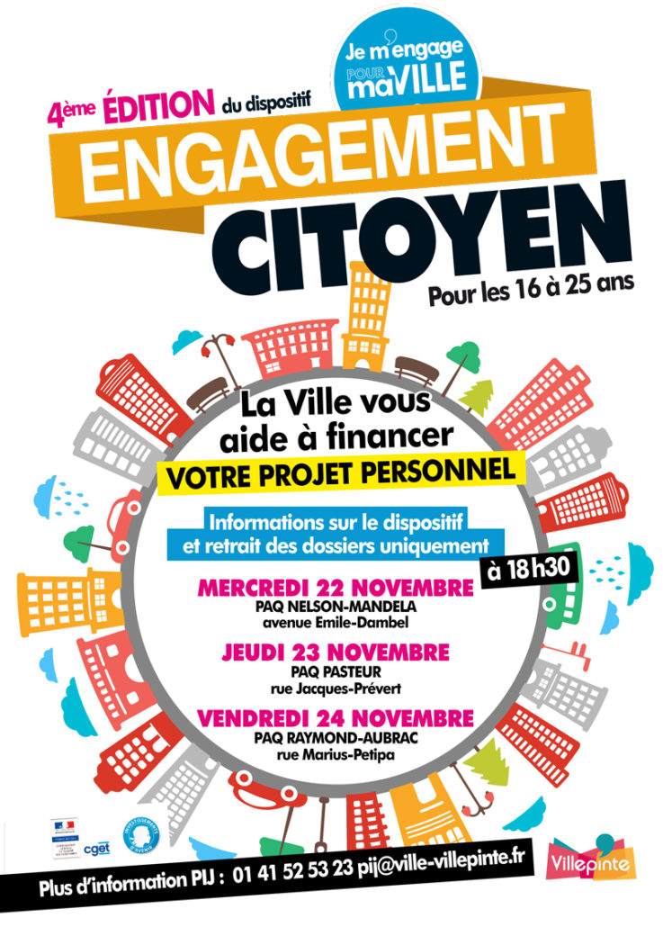 Dispositif Engagement citoyen à Villepinte