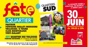 Fête de quartier Trilogie Villepinte samedi 30 juin 2018