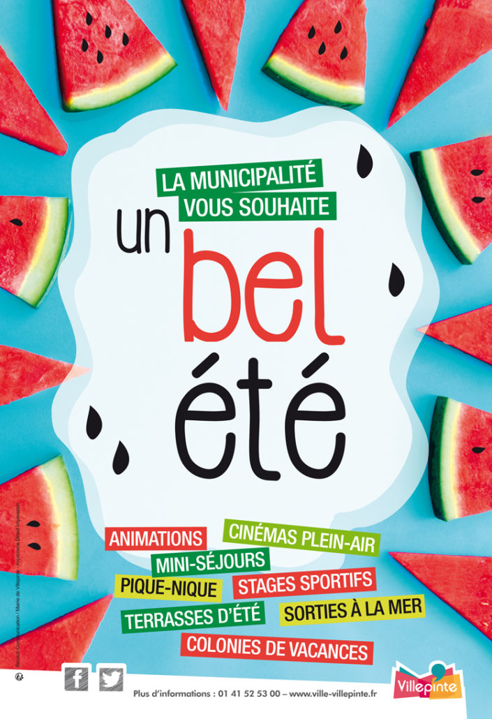 passez un très bel été à Villepinte !