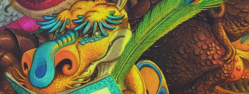 """Exposition """"Charles le petit dragon"""" du 22 janvier au 16 février au Centre Culturel Joseph Kessel de Villepinte (93)"""
