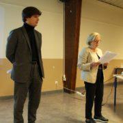 Martine Valleton, maire de Villepinte, participe à l'atelier participatif du futur Plan Local de Déplacements mis en place dès 2017 par Paris Terres d'Envol. Martine Valleton est vice-présidente chargée des transports du Territoire Paris Terres d'Envol.