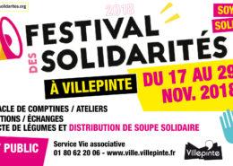 Festival des Solidarités de Villepinte, du 17 au 29 novembre 2018