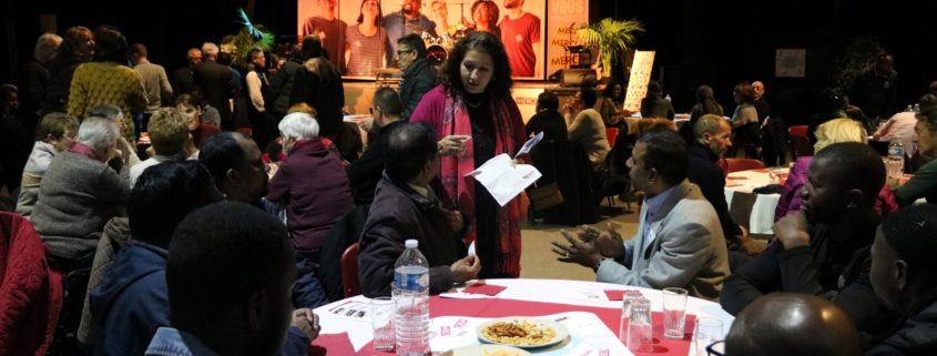 Soirée des bénévoles à Villepinte (93) mercredi 5 décembre 2018