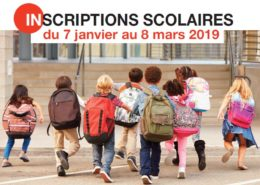 Inscriptions scolaires pour les enfants nés en 2017 et pré-inscriptions pour les enfants nés en 2016 du 7 janvier au 8 mars 2019 à Villepinte (93)