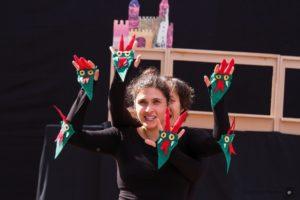 """Spectacle """"7 gueules du dragon"""" par Les Volubiles à la 8eme édition du festival Paille en Son."""