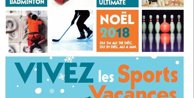 Sports Vacances de Noël 2018