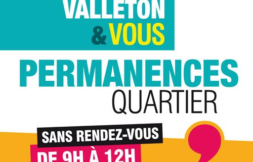 Permanences Quartier de Martine Valleton, Maire de Villepinte (93)