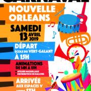 Carnaval de Villepinte 2019 , sous le signe de la Nouvelle Orléans