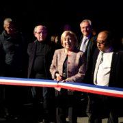 Inauguration des nouveaux gradins des Espaces V De Villepinte samedi 16 février 2019