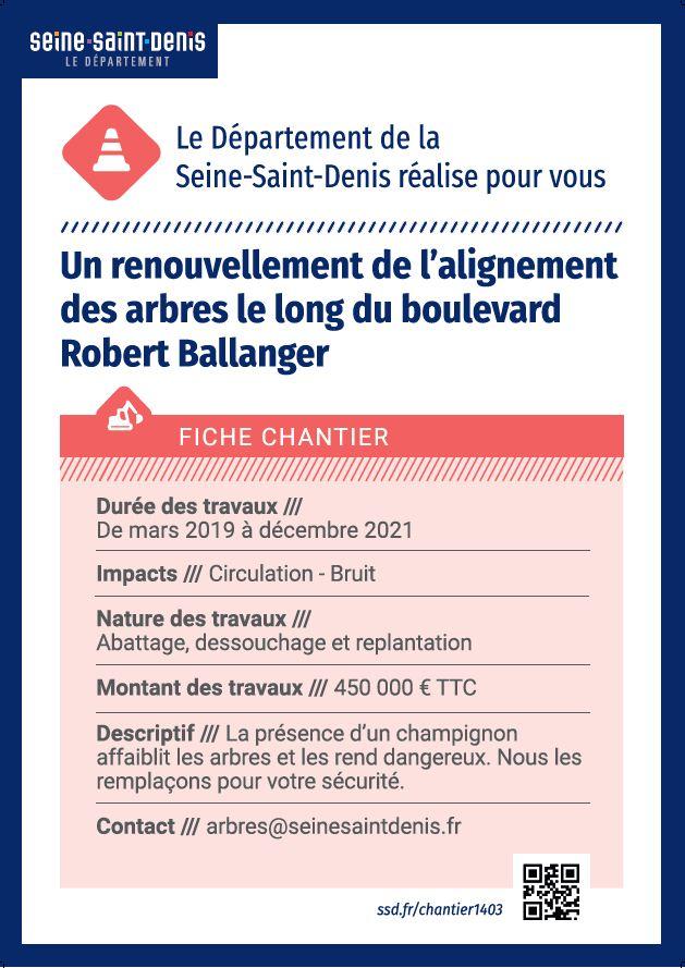 abattage des arbres sur ballanger - Villepinte -Département 93