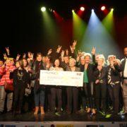 Remise des chèques du Téléthon 2018 - Villepinte + 93