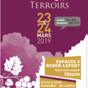 Salon des Vins et terroirs, samedi 23 et dimanche 24 mars à Villepinte (93)