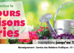 Inscriptions au concours des maisons fleuries