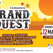 """""""À la découverte du Grand Ouest"""" dimanche 12 mai à l'Esplanade Bel-Air de Villepinte"""