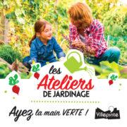 Atelier de jardinage aux jardins familiaux de Villepinte (93) d'avril à juin 2019