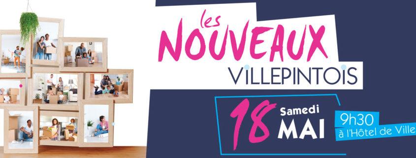 Accueil des nouveaux arrivants à Villepinte, samedi 18 mai 2019 à partir de 9h30 en mairie principale