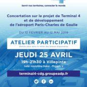 document sur le projet du Terminal 4 de l'Aéroport CDG