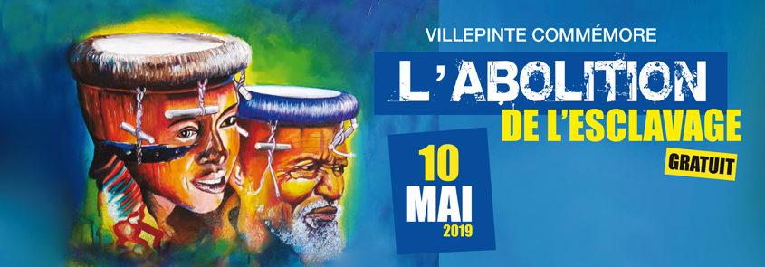 Commémoration de l'abolition de l'esclavage vendredi 10 mai à Villepinte