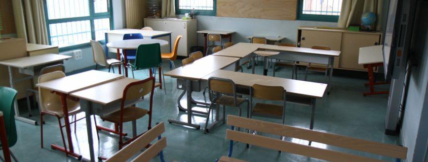 Salle de classe de Villepinte (93)