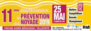 11èmes journées nationales de prévention de la noyade 2019