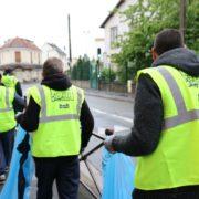 2ème journée de mobilisation pour la propreté àVillepinte dans le quartier du Vert-Galant