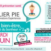 Atelier PIE (Partage Innovations Expériences) sur le bien-être