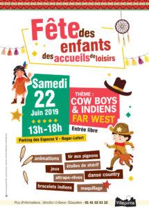 Fête des enfants à Villepinte (93) samedi 22 juin de 13 à 18 heures
