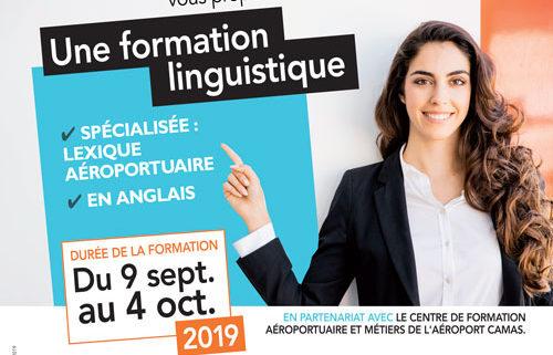 Villepinte propose une formation linguistique du 9 septembre au 4 octobre 2019