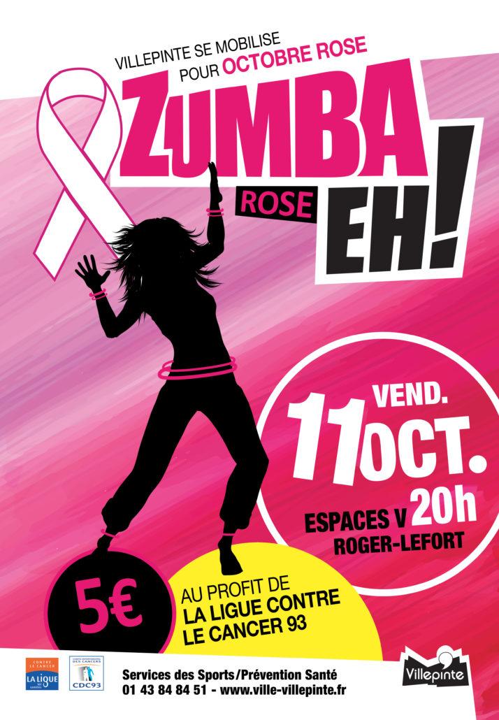 Zumba Rose vendredi 11 octobre 2019
