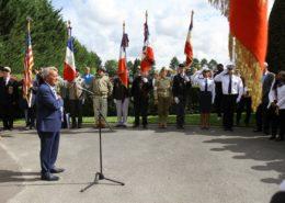 Commémoration du 75ème anniversaire de la libération de Villepinte (93)