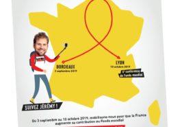La boucle du ruban rouge à Villepinte, lundi 23 septembre 2019