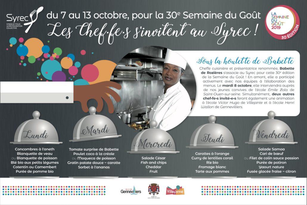 30ème édition de la semaine du goût à Villepinte