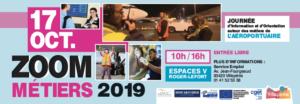 Zoom métiers, jeudi 17 octobre de 10 à 16 heures aux Espaces V de Villepinte (93)